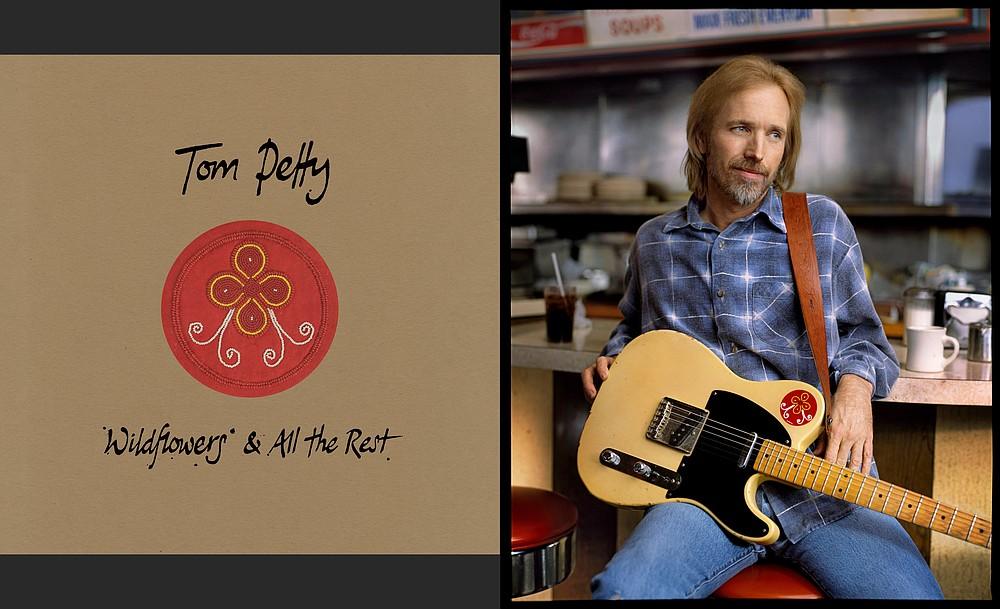 "The Tom Petty boxed set ""Wildflowers & All the Rest"" debuted at No. 5 on Billboard magazine's Top 200 album charts. (Courtesy of Warner Bros. Records)"