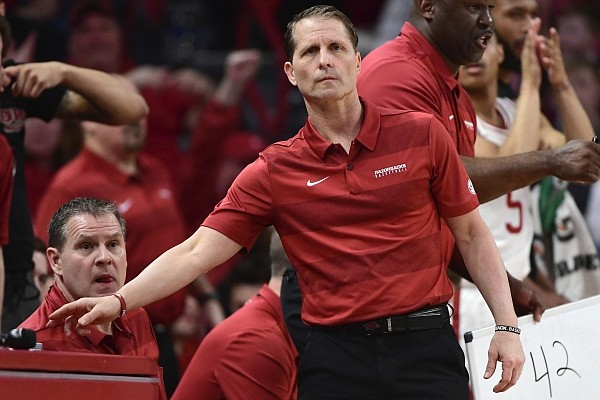 Arkansas Coach Eric Musselman said while the Razorbacks open the season against Mississippi Valley State on Wednesday, he still is not sure about a starting lineup.