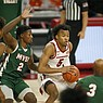 Arkansas defeats MVSU 142-62