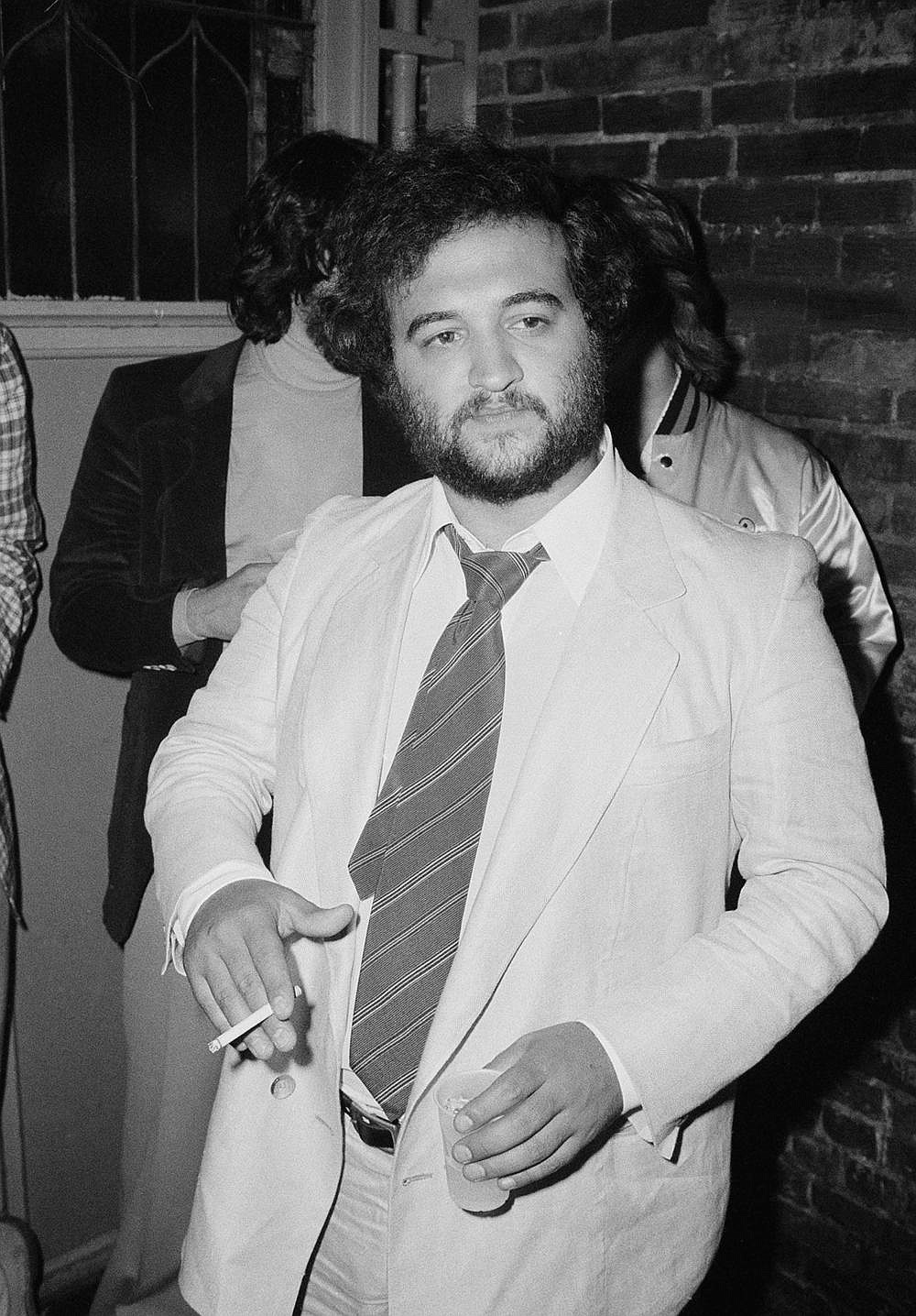 "John Belushi appears at the opening-night party for ""Animal House"" on July 27, 1978, at New York's Village Gate club."