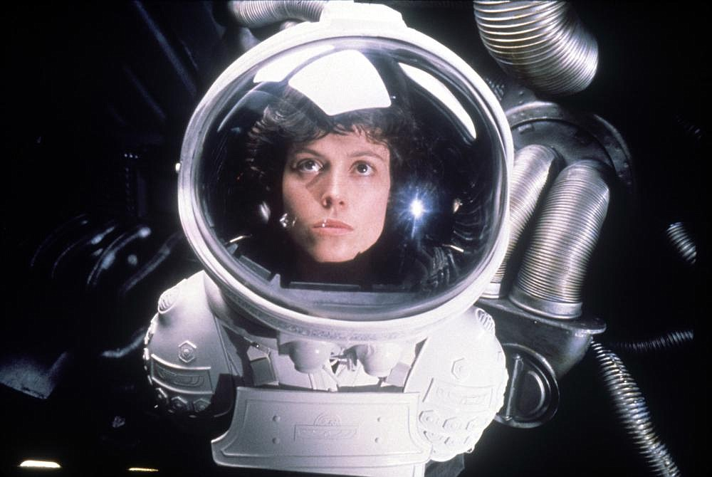 Sigourney Weaver plays Ellen Ripley, who was a warrant officer on the USCSS Nostromo in 2122 when it encountered a single Xenomorph unintentionally collected from the planetoid LV-426 and is perhaps the greatest action heroine of all time.