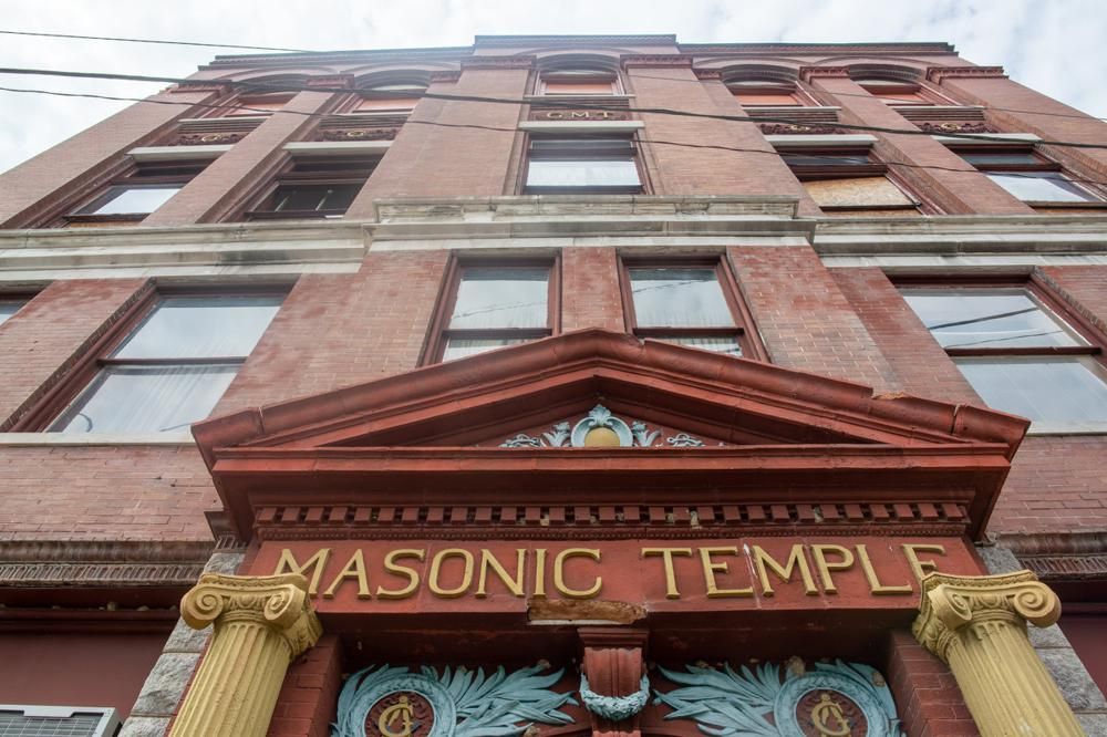 Grand Masonic Temple Still Stands Vacant After Years As Meeting Place