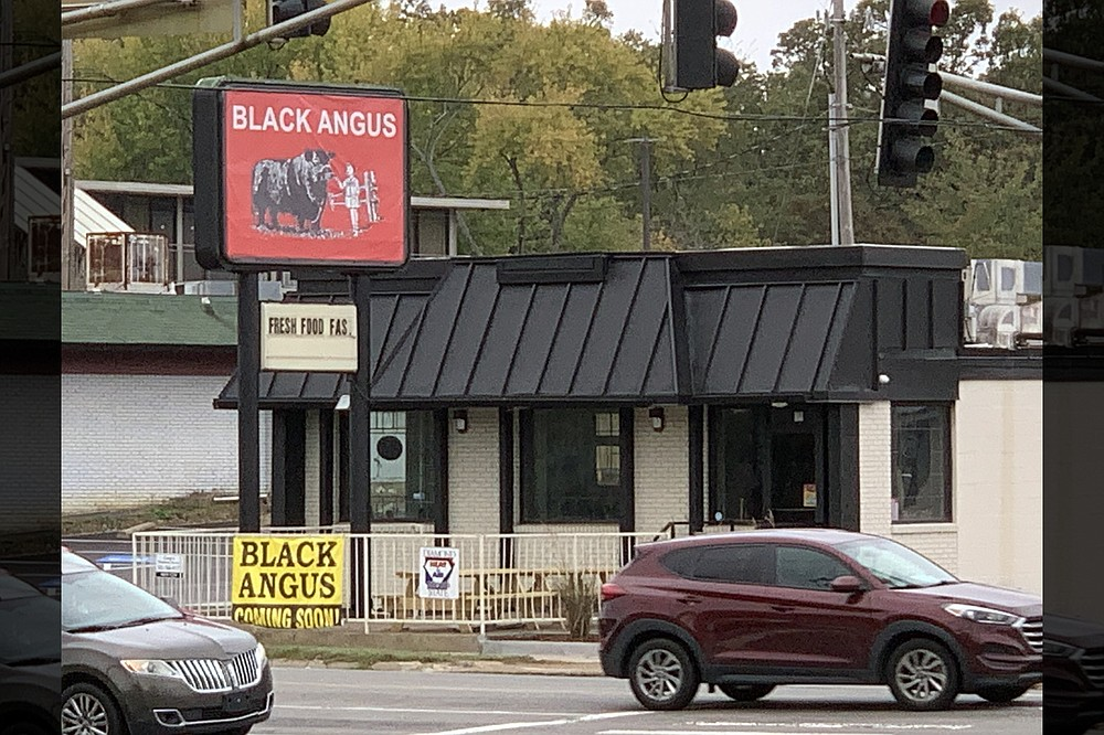 Black Angus moved back to the corner of West Markham and Van Buren streets after more than three decades on Rodney Parham Road. (Democrat-Gazette file photo/Eric E. Harrison)