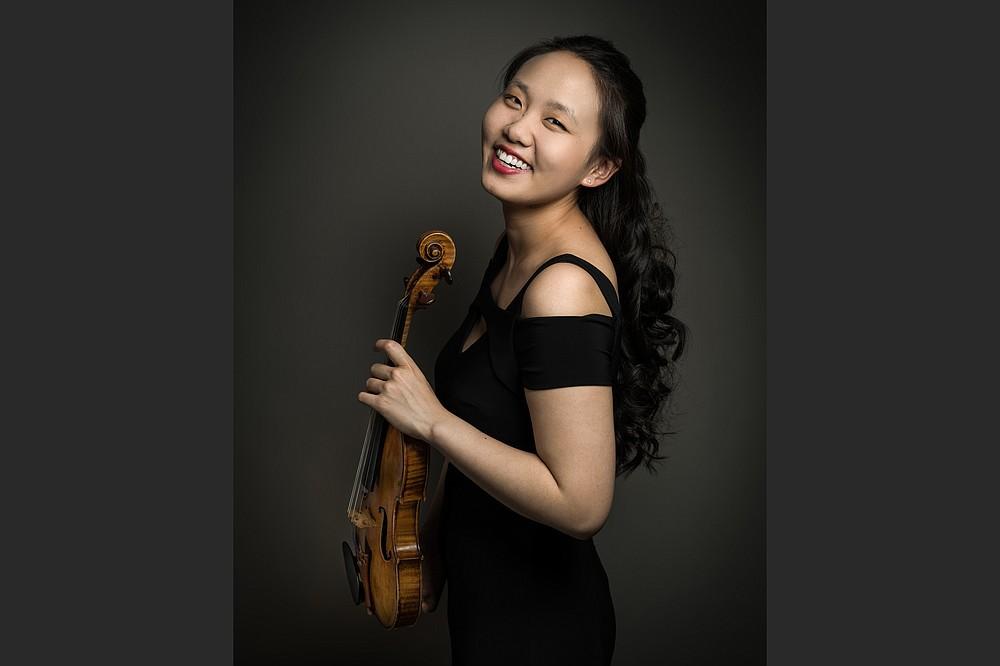 Violinist Stella Chen (Special to the Democrat-Gazette/Brandon Ilaw)