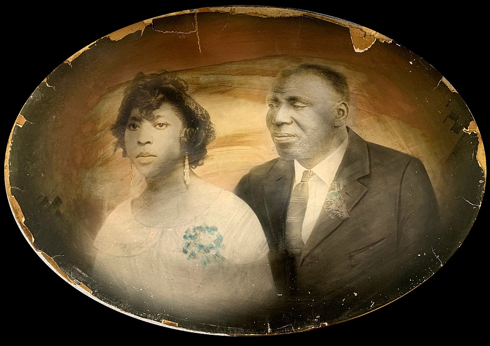 An old family portrait of Mable Moore Dykes and John R. Dykes. The couple was married in 1923. (Contributed)