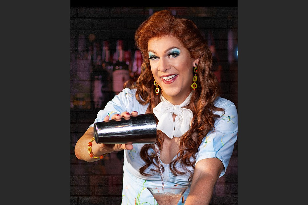 """Fayetteville's Walton Arts Center will stream """"Dixie's Happy Hour,"""" with Dixie Longate, """"everyone's favorite Alabama redhead,"""" Feb. 25-27 and March 4-6 and 3 p.m. Feb. 28 and March 7. (Special to the Democrat-Gazette)"""