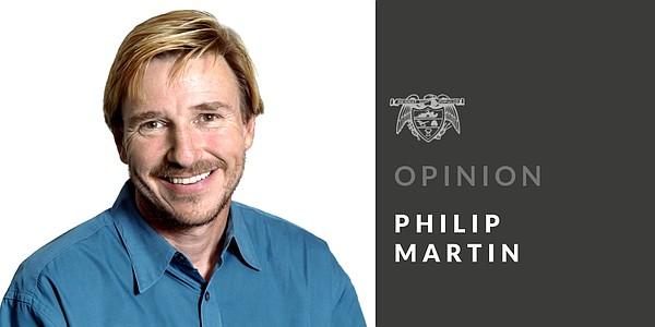 PHILIP MARTIN: Not even sinister