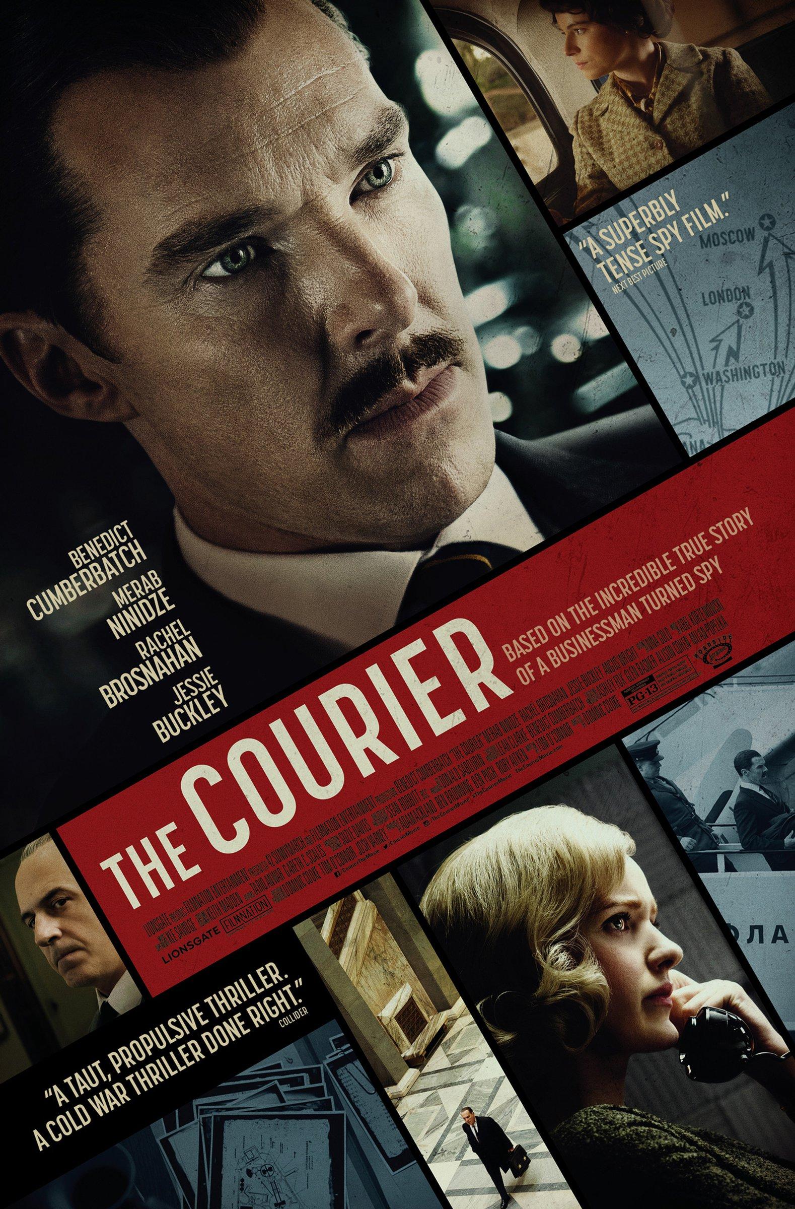 The Courier (2020) Telugu Dubbed (Voice Over) & English [Dual Audio] HDCAM 720p [1XBET]