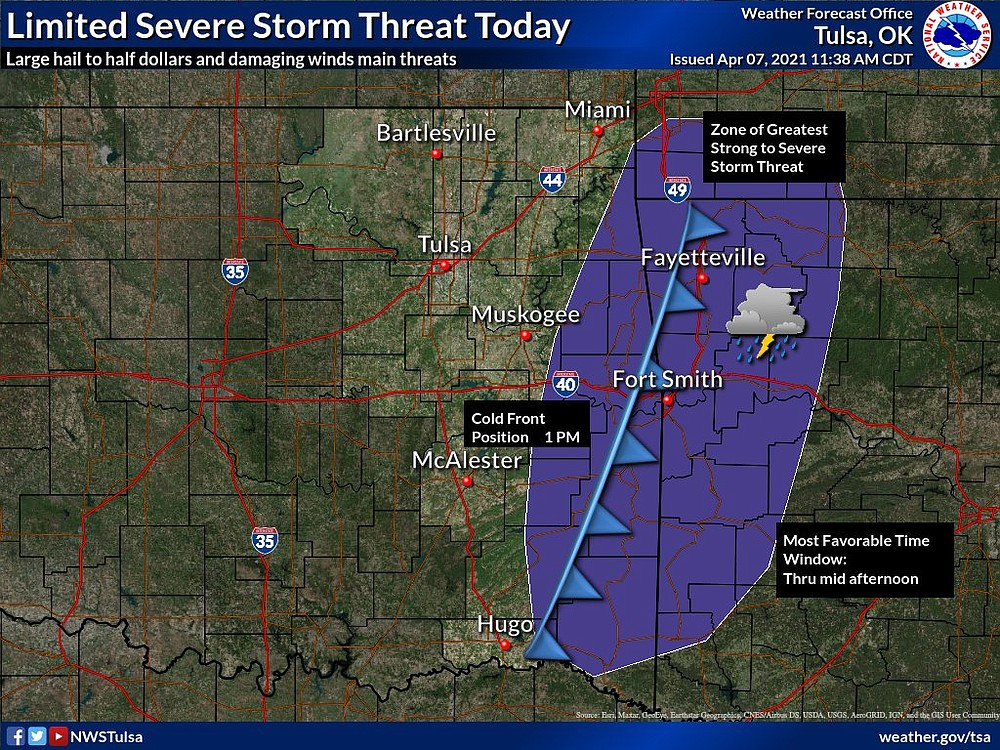 Courtesy photo -- The National Weather Service