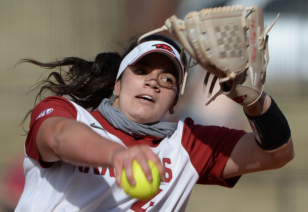 Arkansas pitcher Mary Haff suffered her third loss of the season Friday after allowing all 5 Alabama runs on 6 hits with 3 strikeouts over 32/3 innings of the No. 8 Razorbacks' 5-3 loss to the No. 3 Crimson Tide at Bogle Park in Fayetteville.