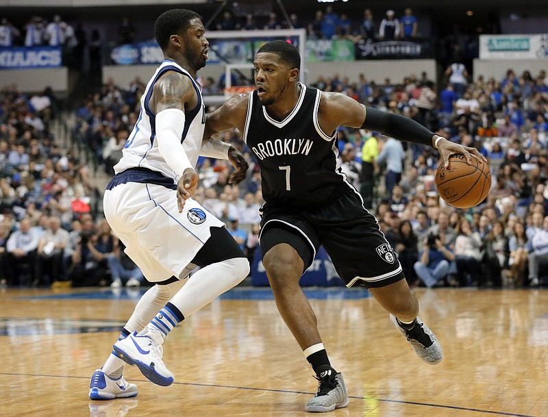 Joe Johnson's 20,405 points rank 44th on the NBA career list, while his 1,978 three-pointers are the 13th-most ever. (AP file photo)