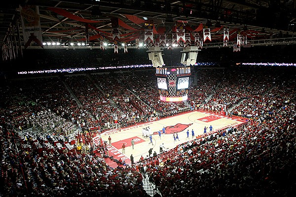 Bud Walton Arena is shown in this file photo.