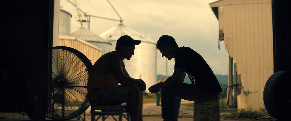"""Lucha (Danny Ramirez) and Cody (Jack DiFalco) are inexperienced teenagers working on a midwestern farm in the independent film """"Silo."""""""