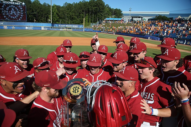 2021 SEC Baseball Tournament - Championship Game:  #2 Tennessee Volunteers vs #1 Arkansas Razorbacks