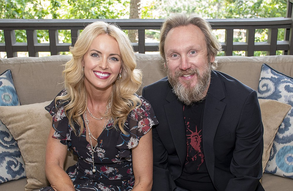 """Mica Strother and her husband, Greg Hale, couldn't say no when they were asked to co-chair STILL Serving Up Solutions, a June 17 event for the Arkansas Hunger Relief Alliance. """"If you can't be nourished, how can you be successful in the other areas of your life?"""" Strother says. (Arkansas Democrat-Gazette/Cary Jenkins)"""