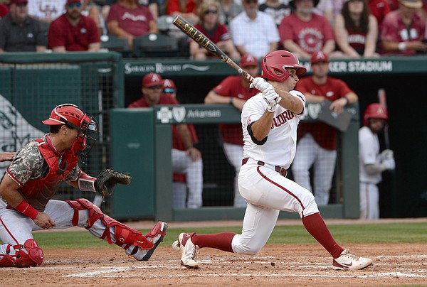 Arkansas falls to NC State, 6-5, faces winner-take-all Sunday game