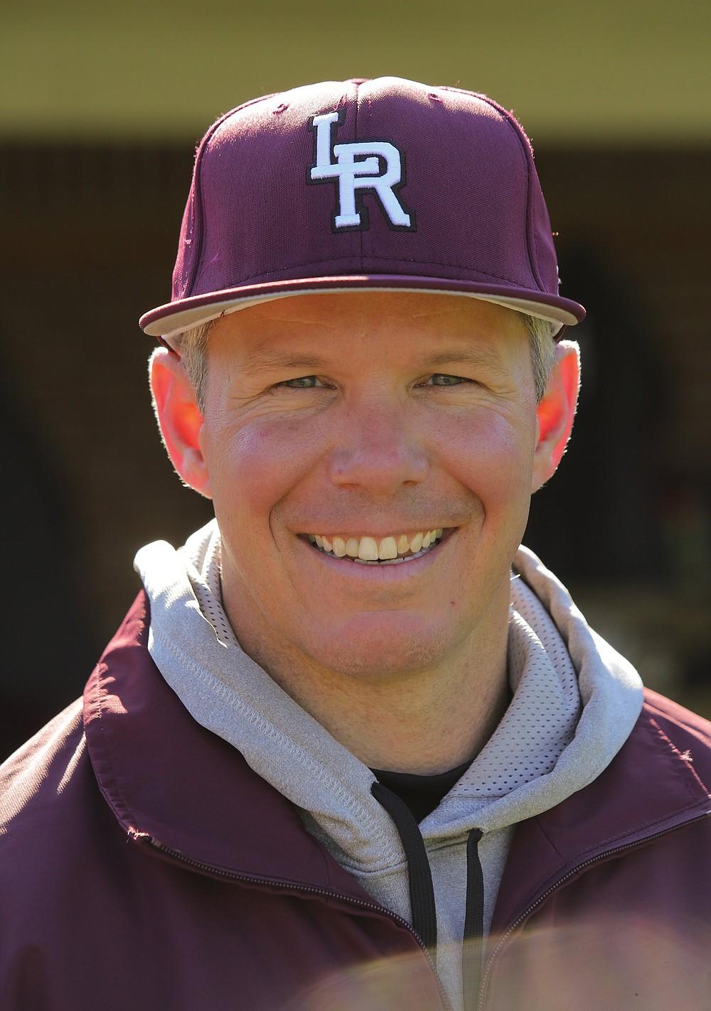University of Arkansas at Little Rock baseball Coach Chris Curry
