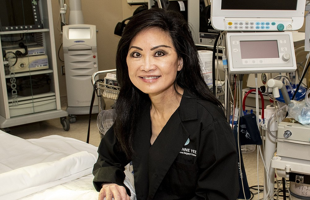 """""""It was pretty scary. I didn't know whether we were actually going to open back up [or] what was going to happen but our demand for procedures has pretty much increased. A lot of people, I think, have more down time … If they're either working from home [or] they're able to recover and work from home, they're not having to take as much time off of work."""" -Dr. Suzanne Yee (Arkansas Democrat-Gazette/Cary Jenkins)"""