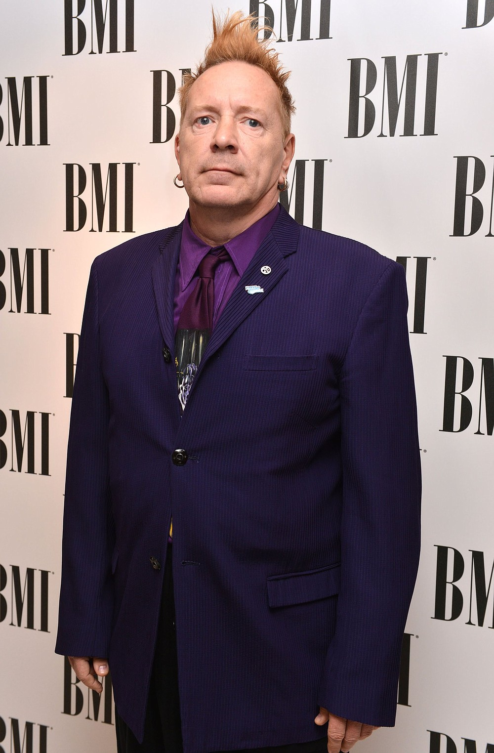 John Lydon at the BMI London Awards 2013, held at the Dorchester Hotel, London, on Tuesday, October 15, 2013. (Photo by Mark Allan/Invision/AP)