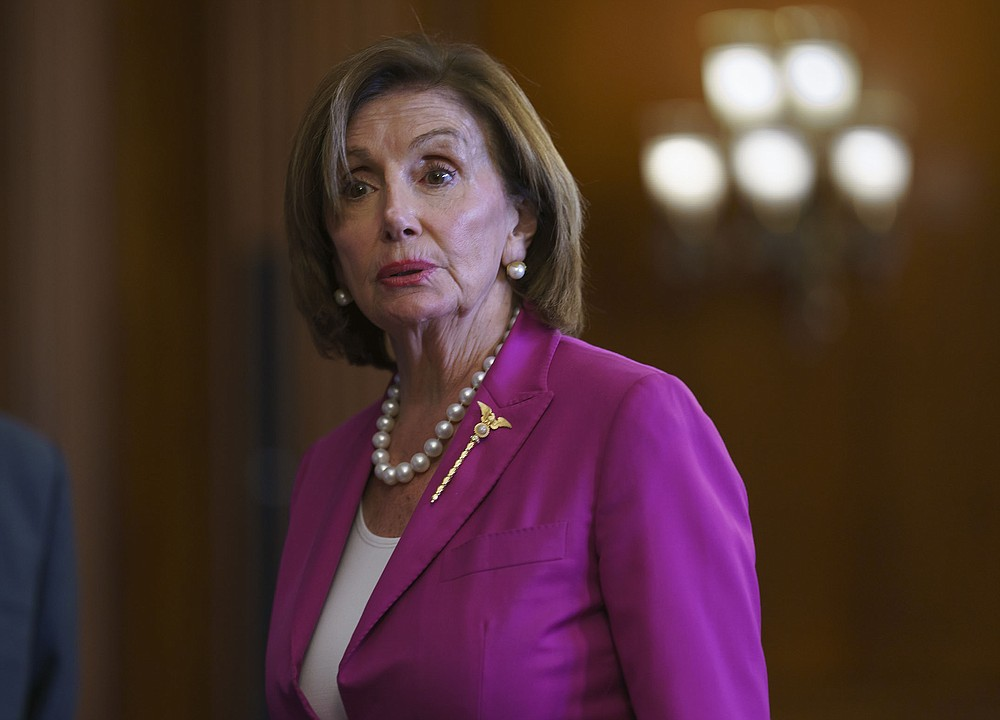 """House Speaker Nancy Pelosi said Wednesday that """"the unprecedented nature of January 6th demands this unprecedented decision"""" to disallow two Republicans chosen by House Minority Leader Kevin McCarthy to serve on a panel investigating the assault on the Capitol. (AP/J. Scott Applewhite)"""