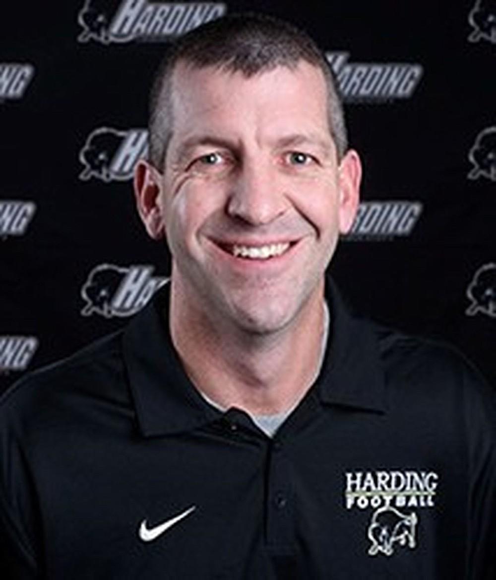 Harding Coach Paul Simmons