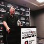 Arkansas coach Bret Bielema talks about his expectations for the forthcoming football season.