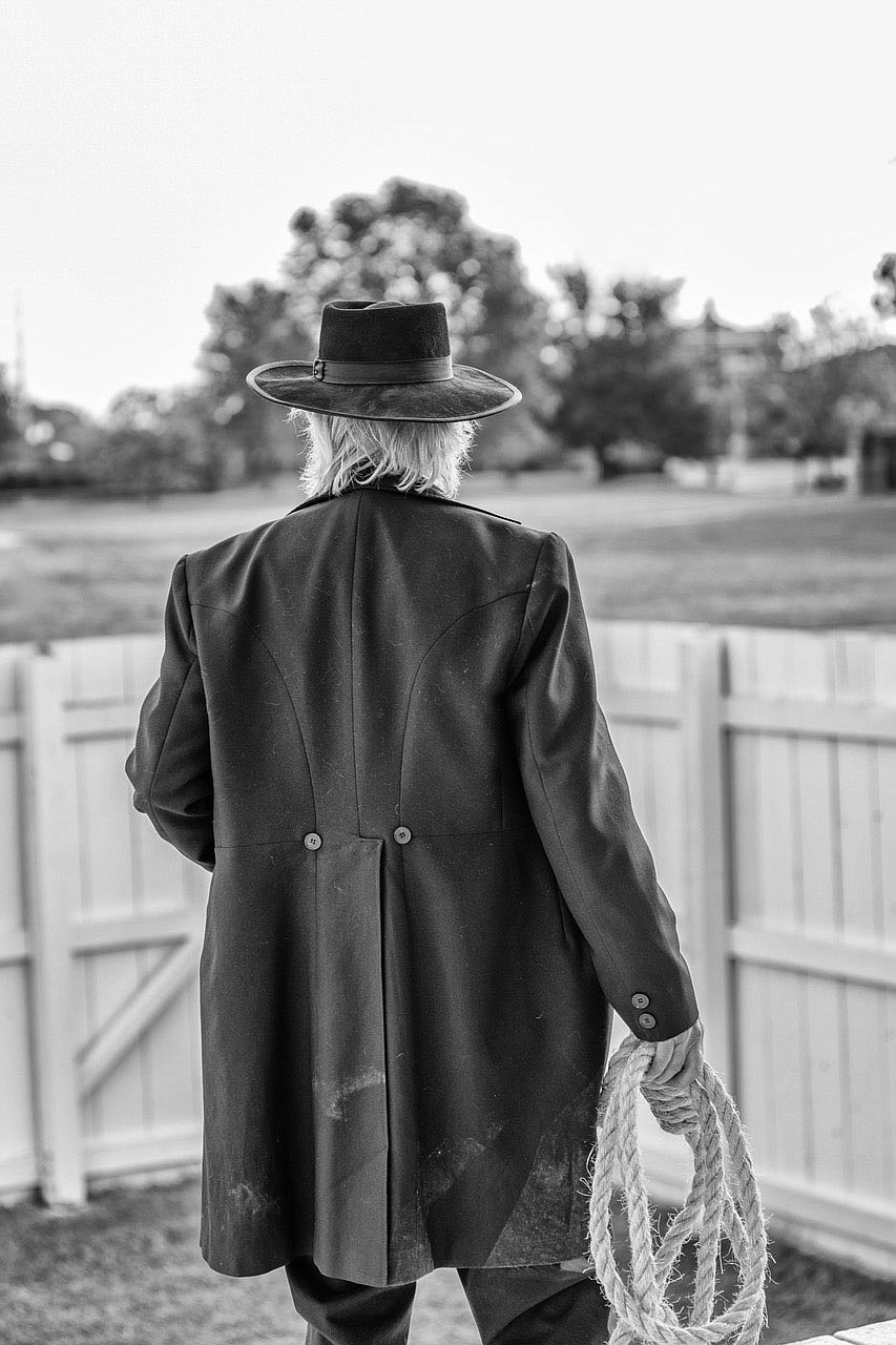 """As infamous as Judge Isaac C. Parker was his hangman. Larry Foley's new film, """"Indians, Outlaws, Marshals and the Hangin' Judge,"""" considers Parker and the """"Wild West"""" where his word was law. (Courtesy Photo/James Brewer)"""