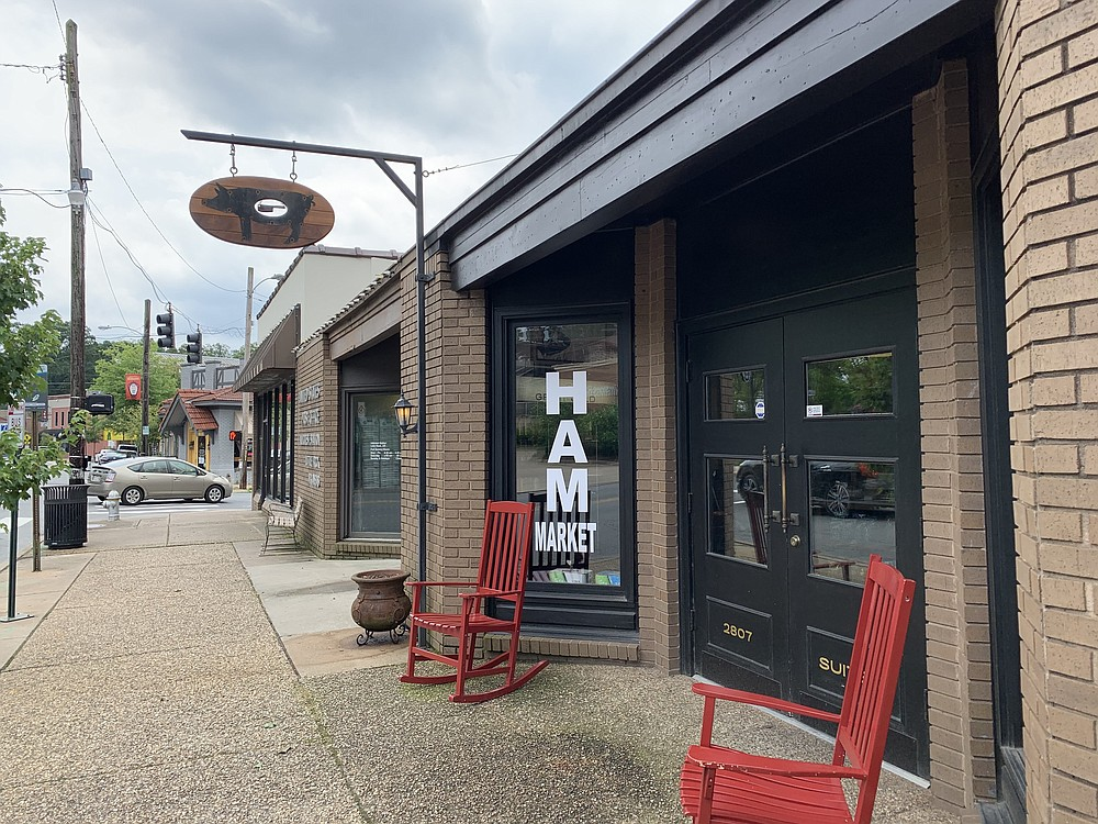 HAM Market has reopened on Kavanaugh Boulevard in Little Rock's Hillcrest. (Arkansas Democrat-Gazette/Eric E. Harrison)