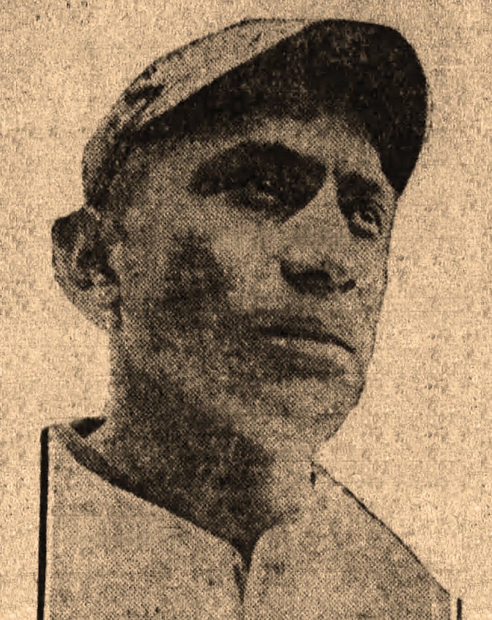Moses Yellow Horse was a pitcher for the Little Rock Travelers ball club when his photo appeared in the June 10, 1920, Arkansas Gazette. (Arkansas Democrat-Gazette)