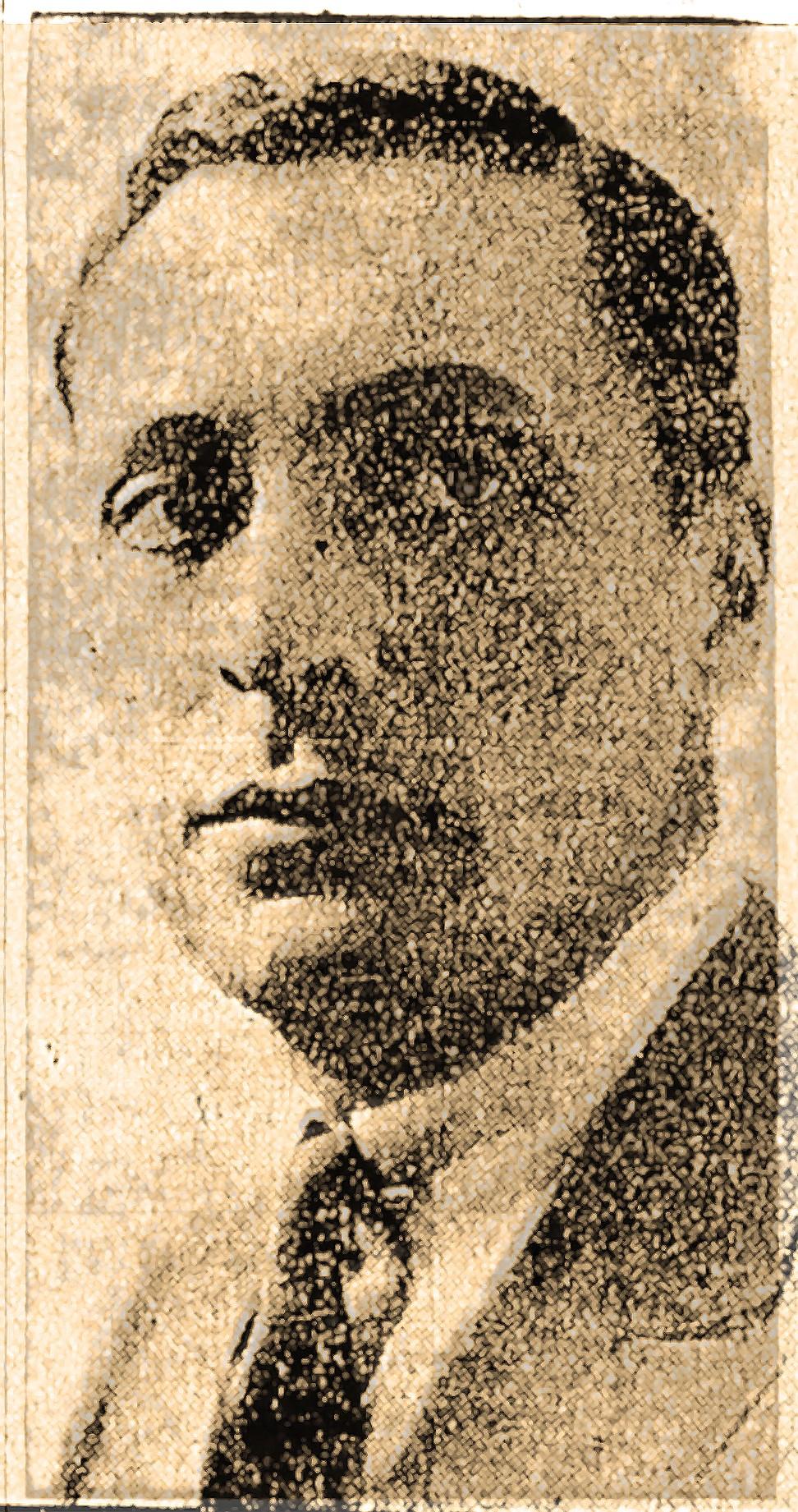 Marquis Jean van Hoegaerden, aka John Sunderland, from the June 27, 1920, Arkansas Gazette.  (Arkansas Democrat-Gazette)