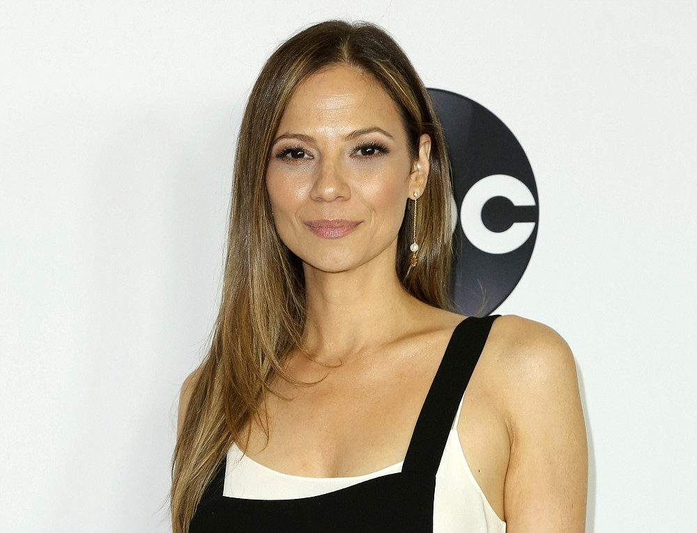 """FILE - In this Aug. 7, 2018 file photo, actress Tamara Braun arrives at the Disney/ABC 2018 Television Critics Association Summer Press Tour in Beverly Hills, Calif. On Friday, June 26, 2020, Braun won the Emmy for outstanding supporting actress for her role in the daytime series """"General Hospital.""""  (Photo by Willy Sanjuan/Invision/AP, File)"""