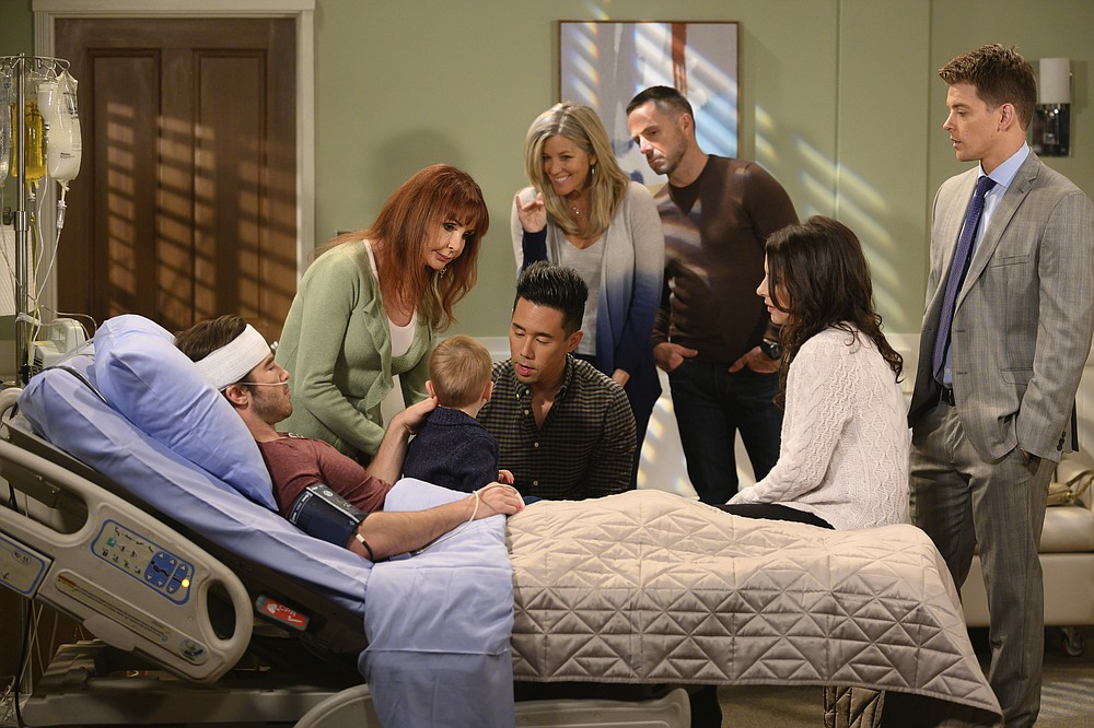 """CORRECTS AWARD FOR BEST DIRECTING TEAM FOR A DRAMA SERIES - This image released by ABC shows a scene from """"General Hospital."""" The daytime series won the Emmy award for outstanding directing team for a drama series at the 47th annual Daytime Emmy Awards. (Nick Agro/ABC via AP)"""