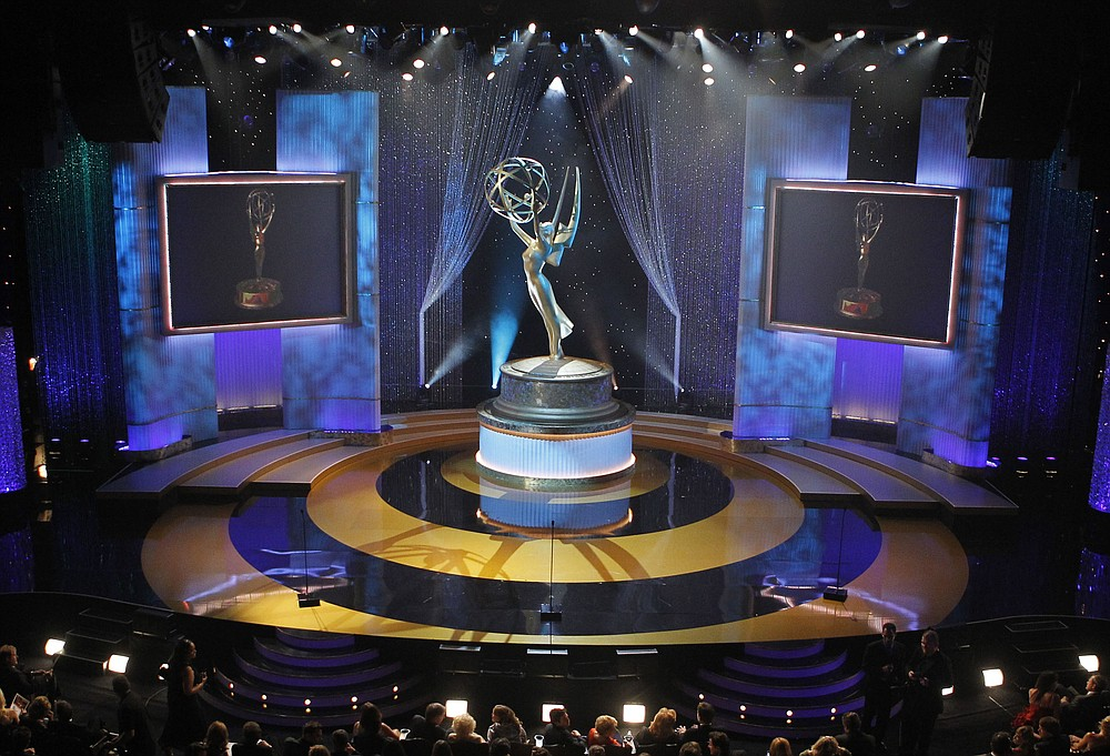 FILE - In this June 27, 2010 file photo, a view of the stage appears at the 37th annual Daytime Emmy Awards in Las Vegas. The 47th annual Daytime Emmy Awards will air on Friday, June 26 at 8 PM EST/PST. (AP Photo/Eric Jamison, File)