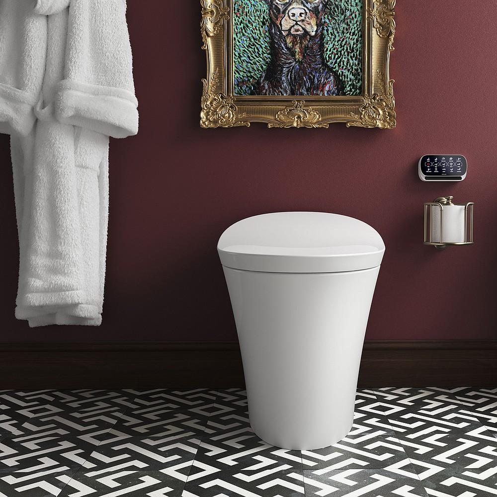 Kohler's Veil intelligent toilet has a $5,300 list price. (TNS/Kohler)