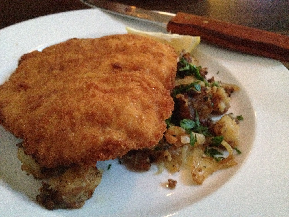 You can now get Wiener Schnitzel to go from from The Pantry Crest.  (Democrat-Gazette file photo)