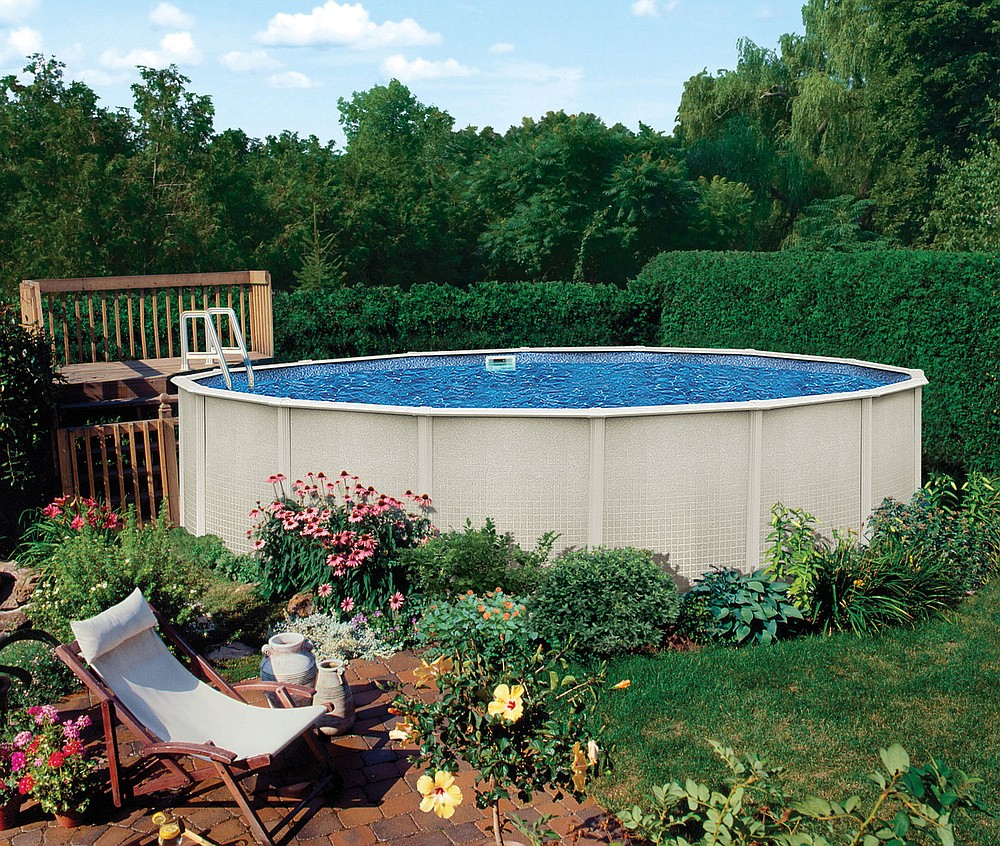Above-ground pools are so popular during the pandemic that they're hard to find. But you can do your homework to have one ready for next summer.  (Royal Swimming Pools via The Washington Post)