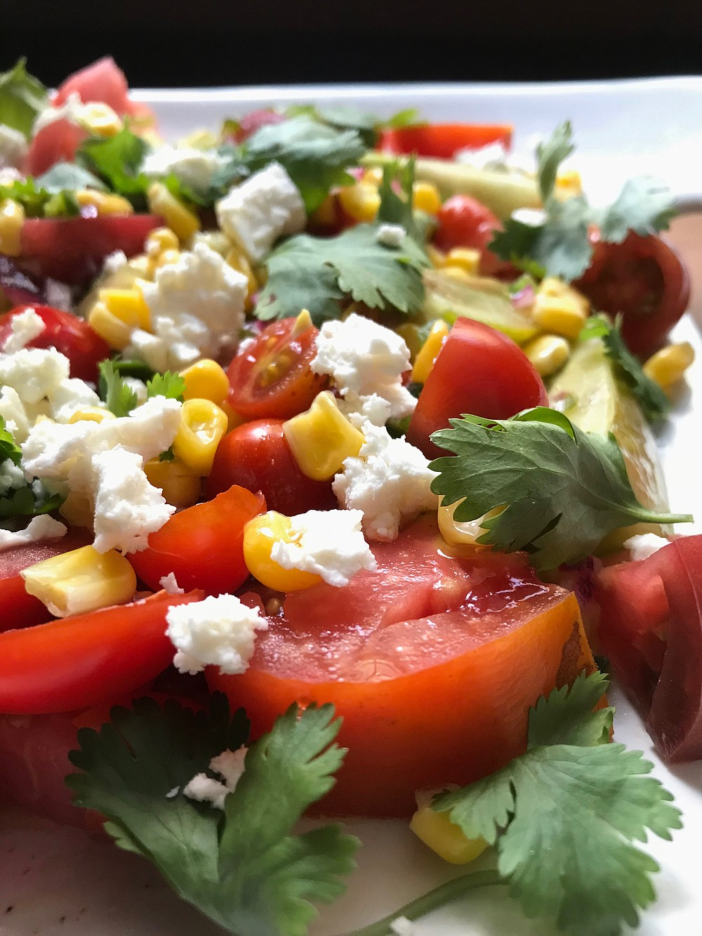Southwestern Tomato and Corn Salad (Arkansas Democrat-Gazette/Kelly Brant)