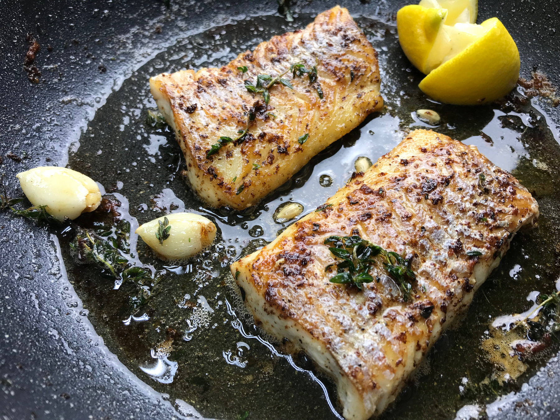 Front Burner Butter Basted Fish Pleases Picky Eater