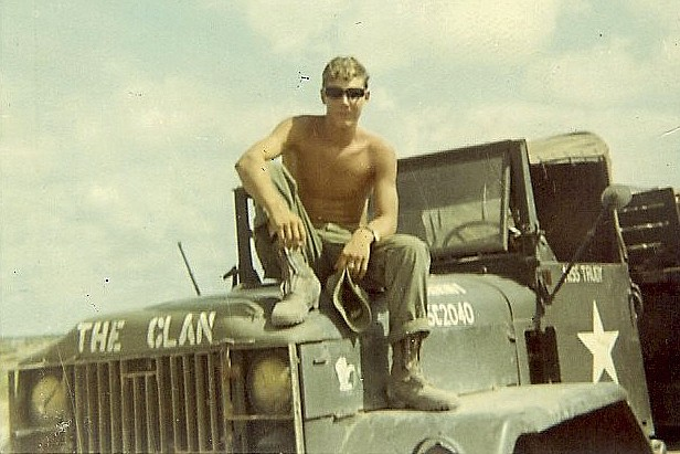 This undated photo shows Harold Rudolph, who is part Tlingit and Aleut, during his Army service days in the Vietnam War. Rudolph is critical of a new government program that will allow Native veterans to apply for land that they might have missed out on in earlier programs because of their service. (Photo provided by Harold Rudolph via AP)