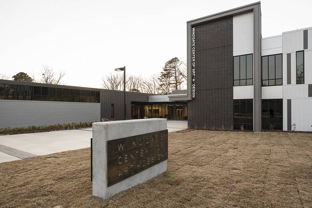 The Windgate Foundation has provided a $3 million endowment for the maintenance of the University of Arkansas at Little Rock's Windgate Center of Art and Design.  (Special to the Democrat-Gazette)