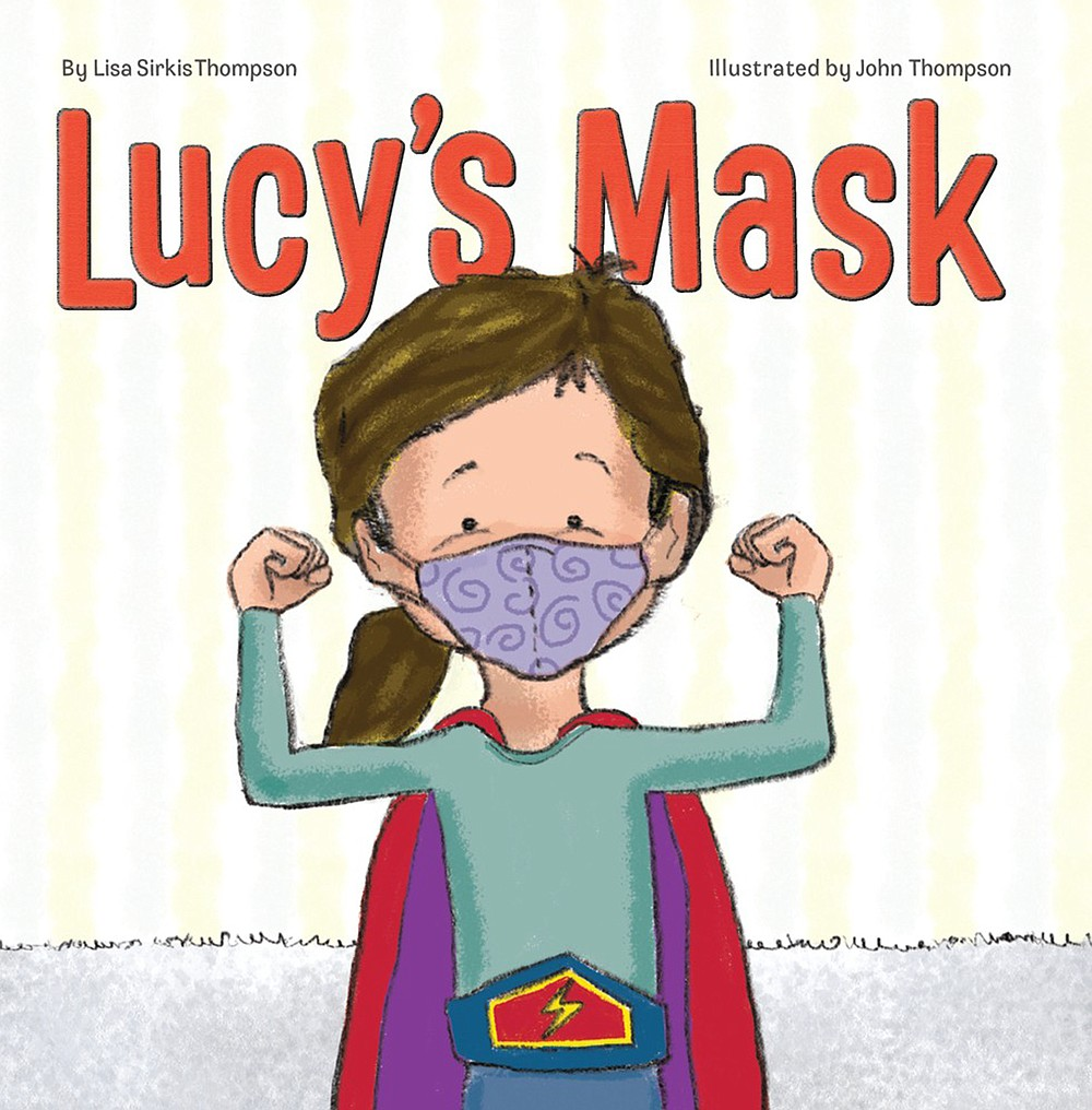 """Lucy's Mask"" written by Lisa Sirkis Thompson and illustrated by John Thompson (John Thompson)"