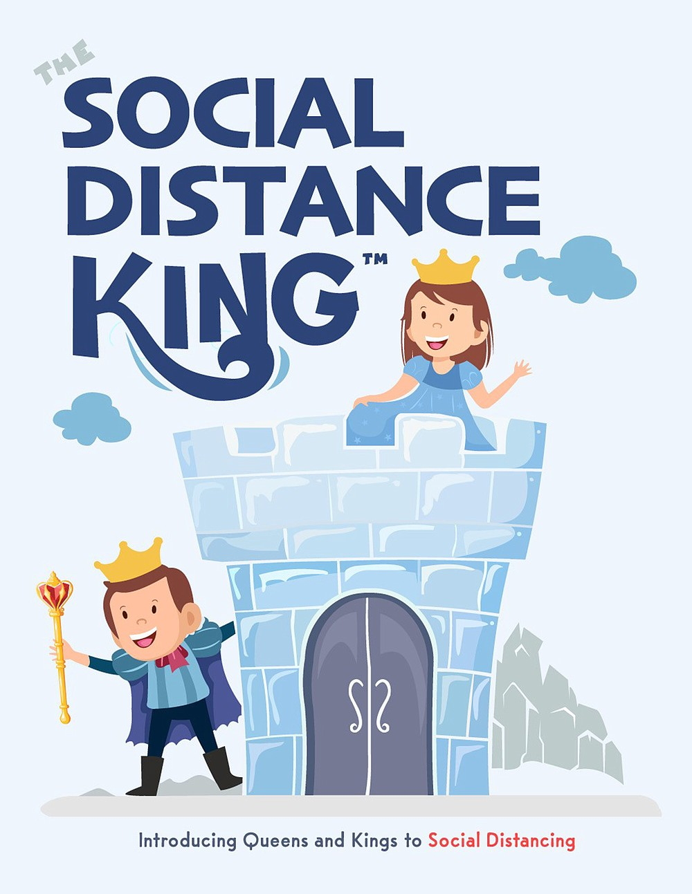 """The Social Distance King"" by Eric DeSio (Eric DeSio)"