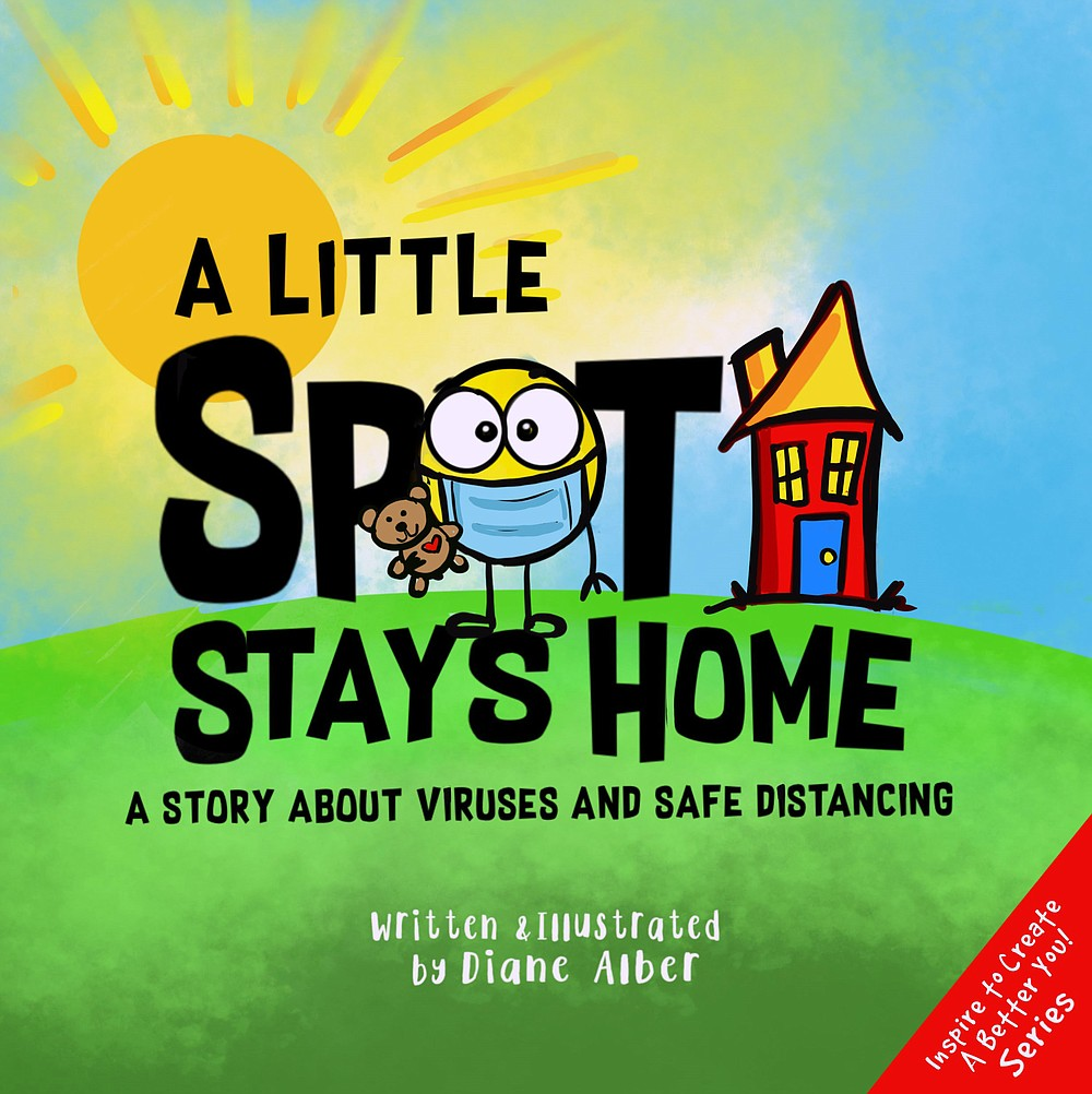 """A Little Spot Stays Home"" by Diane Alber. (Diane Alber Art)"