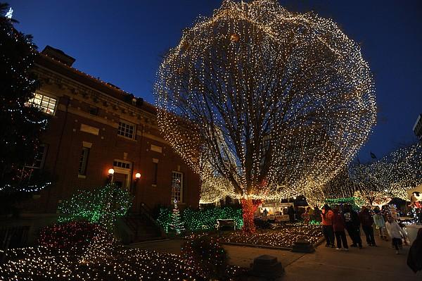 Fayetteville's Lights of the Ozarks celebration to go virtual