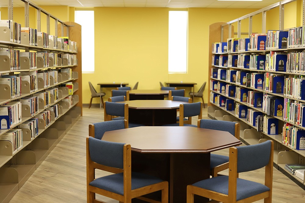 This image shows the inside of the White Hall Branch's adult area. Special to The Commercial/Pine Bluff Jefferson County Public Library System