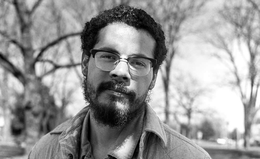 Poet Geffrey Davis is the winner of the 2020 Porter Prize. (Special to the Democrat-Gazette/Hamilton Matthew Masters)