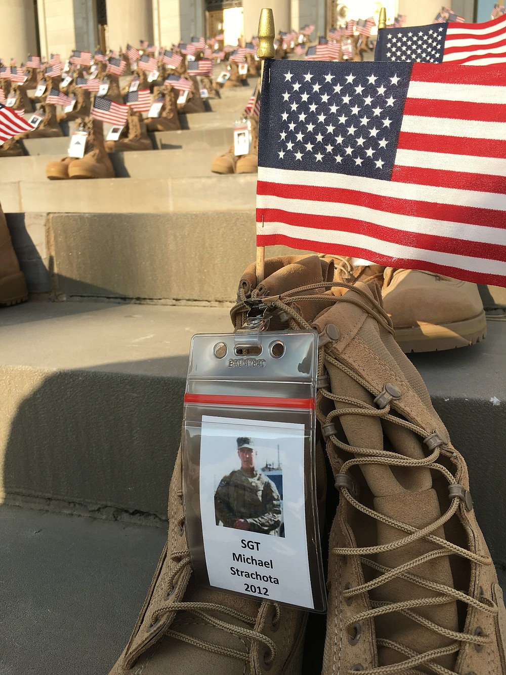U.S. Army Sgt. Michael J. Strachota from Pine Bluff died June 24, 2012, near Kandahar, Afghanistan. Deborah Horn/Special to The Commercial