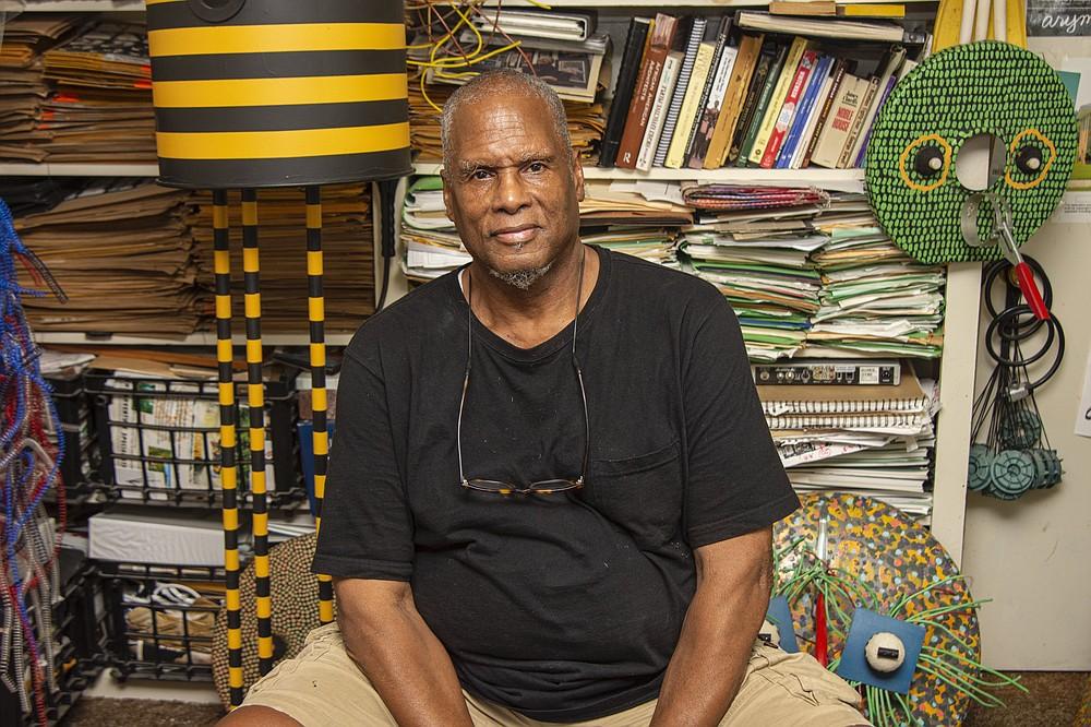 "Little Rock architect Kwendeche heads up a virtual session, ""Kwendeche: Humnoke to Ubud to Asmara Back to Humnoke,"" Oct. 29.  (Arkansas Democrat-Gazette/Cary Jenkins)"