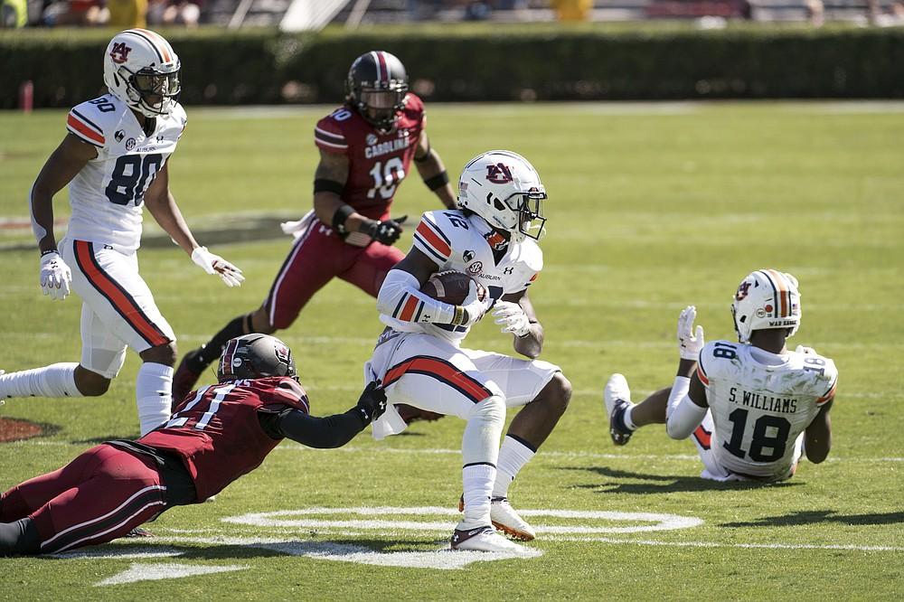 South Carolina ends woes vs. Auburn