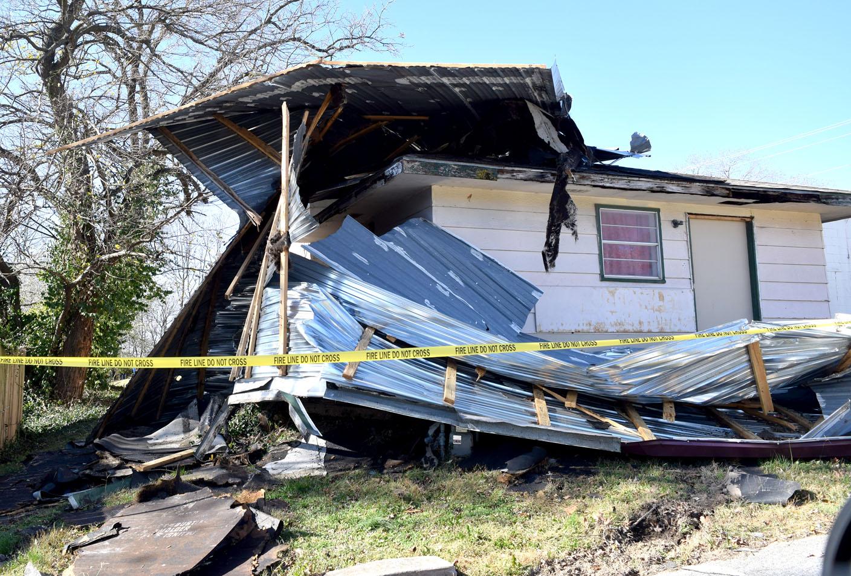 Storm damages Decatur church